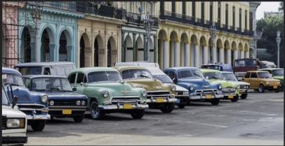 cuban cars
